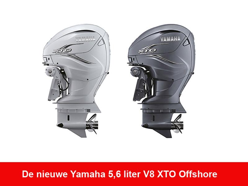 Nieuwe Yamaha 5,6 liter V8 XTO Offshore